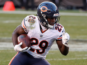 Tarik Cohen returns second half kickoff 38 yards