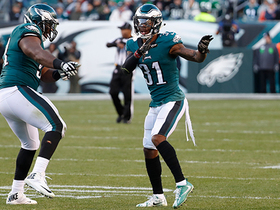 Eagles get second chance at electric slide after Corey Graham interception
