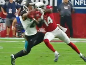 A.J. Bouye nearly pulls off miraculous interception