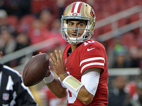 Jimmy Garoppolo throws 10-yard TD on his first drive as a 49er