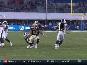 Rams recover Saints' onside kick attempt to clinch game
