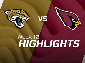 Jaguars vs. Cardinals highlights | Week 12