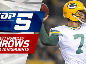 Top 5 Brett Hundley throws | Week 12