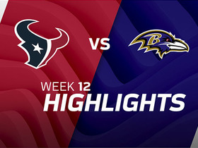 Texans vs. Ravens highlights | Week 12