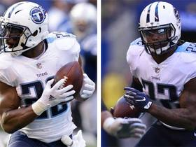 Daryl Johnston says 'two best stiff arms in the league' are Titans