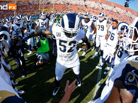 'Sound FX': Alec Ogletree pumps up team during victory
