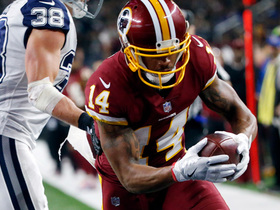 Watch: Ryan Grant sneaks behind Cowboys secondary for Redskins TD