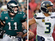 Watch: Who will have a better game Carson Wentz or Russell Wilson?