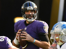 Flacco finds wide open Watson for a 1-yard TD