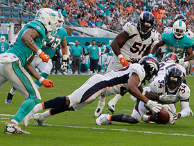 Bradley Roby forces Kenny Stills fumble, recovers it himself