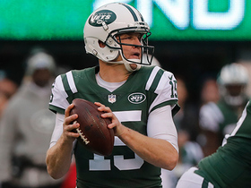 Josh McCown drops 26-yard dime to Robby Anderson in tight coverage