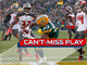 Watch: Can't-Miss Play: Aaron Jones scores walk-off TD on first carry of game