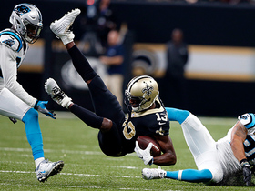 Drew Brees finds Michael Thomas deep for 22 yards