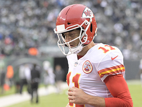 Watch: Alex Smith's fourth down pass falls incomplete, Jets win