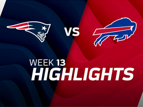 Patriots vs. Bills highlights | Week 13