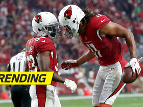 Watch: Larry Fitzgerald scores TD on 1,200th career reception