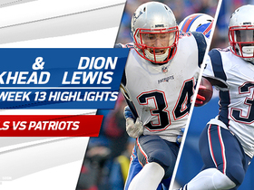 Rex Burkhead and Dion Lewis highlights | Week 13