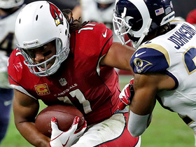 Larry Fitzgerald slips tackle to pick up 13 yards