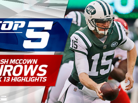 Josh McCown Top 5 Throws | Week 13