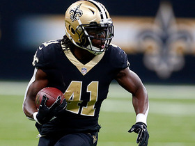 Alvin Kamara breaks tackles to pick up first down and more