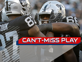 Can't-Miss Play: Johnny Holton toe-taps to set up TD