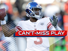 Can't-Miss Play: Geno Smith's first Giants TD is a laser to Evan Engram