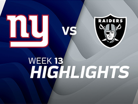 Giants vs. Raiders highlights | Week 13