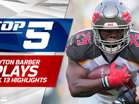 Peyton Barber Top 5 Plays | Week 13