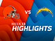 Watch: Browns vs. Chargers highlights   Week 13