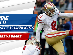 Robbie Gould highlights | Week 13