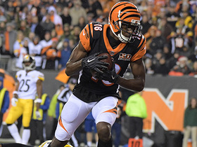 Watch: Dalton shreds Steelers' blitz, slings TD to A.J. Green