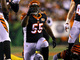 Watch: Vontaze Burfict halts Le'Veon Bell at line, celebrates with flare