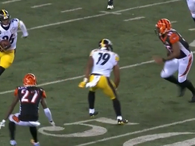 JuJu Smith-Schuster draws two penalties after hit on Vontaze Burfict