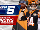 Watch: Top 5 Andy Dalton throws | Week 13