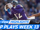 Watch: freeD: Top plays of the week | Week 13