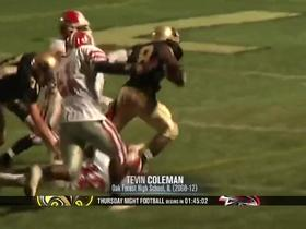 Throwback Thursday: Tevin Coleman runs all over defenses in high school