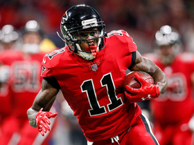 Julio Jones beats Mashon Lattimore on 21-yard sideline catch