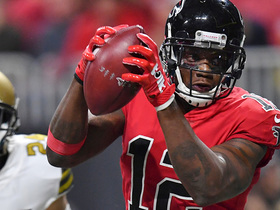 Watch: Mohamed Sanu makes beautiful catch for game-tying TD