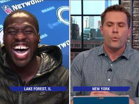 Sam Acho recites Geoffrey Chaucer to the Good Morning Football crew