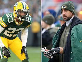 Damarious Randall: Aaron Rodgers is 'looking good' in practice