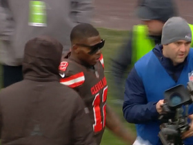 Josh Gordon throws on sunglasses to celebrate TD