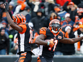 Watch: Dalton completes perfectly timed pass to LaFell for a TD