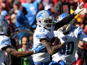 Darius Slay makes diving interception off Jameis Winston