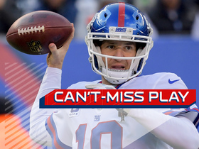 Watch: Can't-Miss Play: Eli fools Cowboys D, throws first TD in return