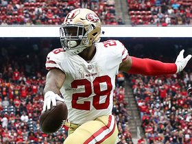 Watch: Carlos Hyde bounces around pile and into end zone for TD