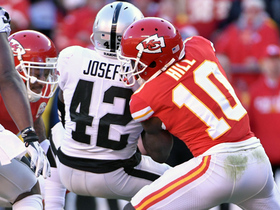 Alex Smith gives ball right back to Raiders, Karl Joseph gets INT