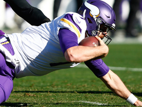Peppers sacks Keenum to take Vikings out of FG range