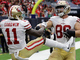 Watch: Garrett Celek finishes the drive on a 6-yard TD pass from Garoppolo