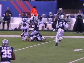 Roger Lewis hears footsteps and drops crucial third-down catch