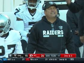 John Pagano shows frustration after Chiefs convert on third down